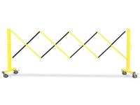 flexpro expandable barrier yellow