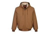 PORTWEST FR Duck Quilt Lined Jacket - S - Brown