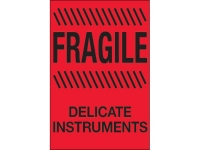 Fragile Delicate Instruments Red
