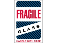 Fragile Glass Blue 1570