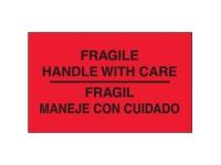 Fragile Hwc Bilingual Red