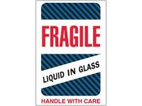 Fragile Liquid In Glass Blue 1590