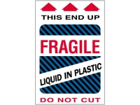 Fragile Liquid In Plastic Blue 1580