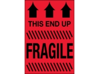 Fragile This Side Up Red