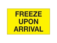 Freeze Upon Arrival Yellow