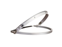 PORTWEST Full Brim Visor Holder - Silver