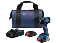 BOSCH Brushless Connected-Ready Hex Impact Driver Kit - 1/4