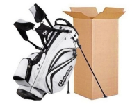 golf clubs shipping boxes bags