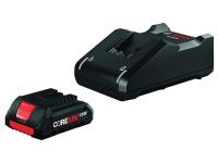 BOSCH 18V CORE18V Starter Kit with (1) CORE18V 4.0 Ah Compact Battery