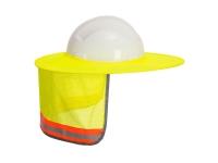 Portwest Hi Vis Mesh Sun Shield - O/S - Yellow