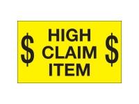 High Claim Item Yellow