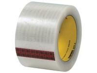 3M 369 Carton Sealing Tape - Hand Rolls - Hot Melt Adhesive - 1.6 Mil - 2