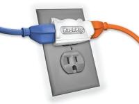 Hug a Plug Outlet Adapter