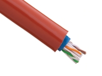 Silcone-jacketed fiberglas sleeving