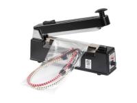 Pack Kontrol Impulse Sealer with Cutter - Max 12 Mil Sealing - 8