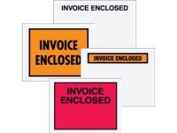 Pack Kontrol Invoice Enclosed Shipping Envelopes