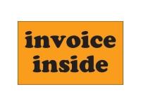 Invoice Inside Orange