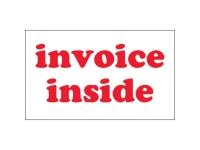 Invoice Inside White