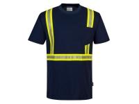 PORTWEST Iona Xtra Enhanced T-Shirt - S - Navy