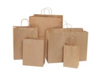 Pack Kontrol Kraft Paper Shopping Bags