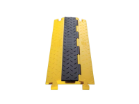 single channel cable protector, bumblebee, yellow base and black lid