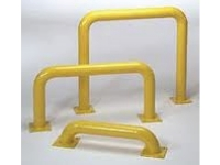 Multiple Eagle steel machinery guards, yellow
