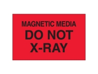 Magnetic Media Do Not Xray Red Solid