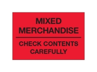 Mixed Merchandise Check Contents