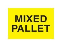 Mixed Pallet Yellow