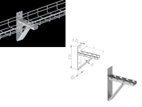 nl8585270 cantilever wall bracket
