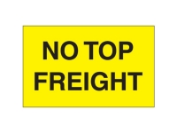 No Top Freight Yellow