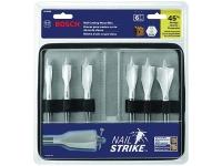 BOSCH Nail Strike Wood Boring Spade Bit Set - 6 Pc