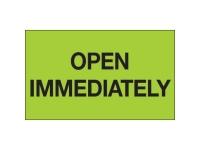 Open Immediately Green