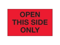 Open This Side Red