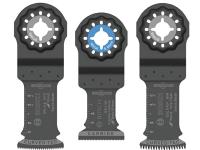 BOSCH Starlock Oscillating Multi-Tool Accessory Blade - 3 pc Set