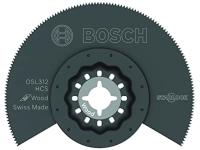 BOSCH Starlock Oscillating Multi Tool High-Carbon Steel Segmented Saw Blade - 3-1/2
