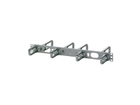panduit d ring horizontal cable manager front and rear rings