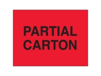 Partial Carton Red