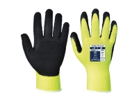 portwest a340 hi vis grip gloves latex foam