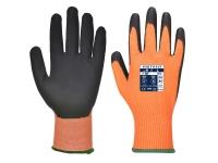 portwest a625or hi vis cut resistant gloves