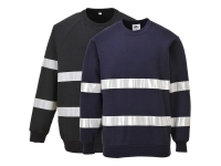 portwest b307group iona sweatshirt hi vis