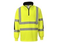 portwest b308 xenon hi vis rugby shirt
