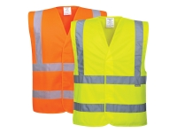 portwest c470group hi vis safety vest two band and brace