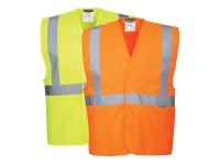 portwest c472group hi vis safety vest one band and brace