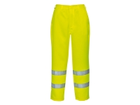 portwest e041 hi vis polyester cotton pants