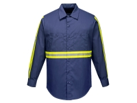 portwest f125 iona hi vis long sleeve shirt