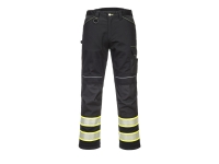portwest f142 iona plus work pants hi vis