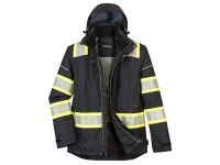 portwest f144 iona plus winter jacket hi vis