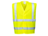 portwest fr75 hi vis fire resistant safety vest