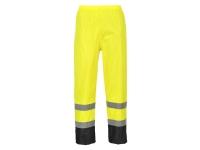 portwest h444 hi vis rain pants classic style